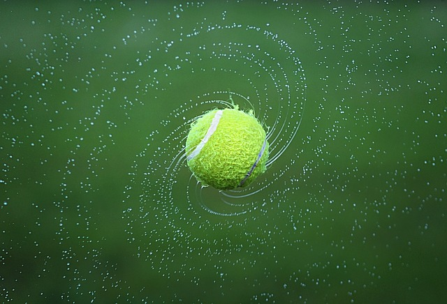 Tenis, sport, tenisový míček.