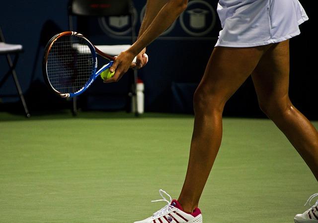 Tenis, tenistka, sport.